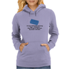 HUMOUR FUNNY SATIRE EVEN YOUR SAINTED OLD GRANNY SAYS ,,COCKSUCKER! WHEN SHE STEPS ON A LEGO BLOCK Womens Hoodie