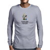 HUMOUR FUNNY SATIRE RECIPE FOR TODAY 1 CUP CLUSTER 1 CUP FUCK! Mens Long Sleeve T-Shirt
