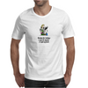 HUMOUR FUNNY SATIRE RECIPE FOR TODAY 1 CUP CLUSTER 1 CUP FUCK! Mens T-Shirt