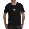 humour funny satire THINK ABOUT HOW TRULY STUPID THE AVERAGE PERSON IS THEN REALIZE THAT 50% OF THEM Mens T-Shirt