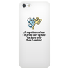 humour, funny, smile, laughter In my advanced age Phone Case