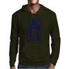 Hungry Barbecue Bear Mens Hoodie