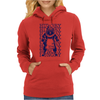Hungry Barbecue Bear Womens Hoodie