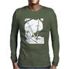 Hunter Killer Two Swords Wall Mens Long Sleeve T-Shirt