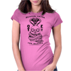 Hunter never the Hunted Womens Fitted T-Shirt