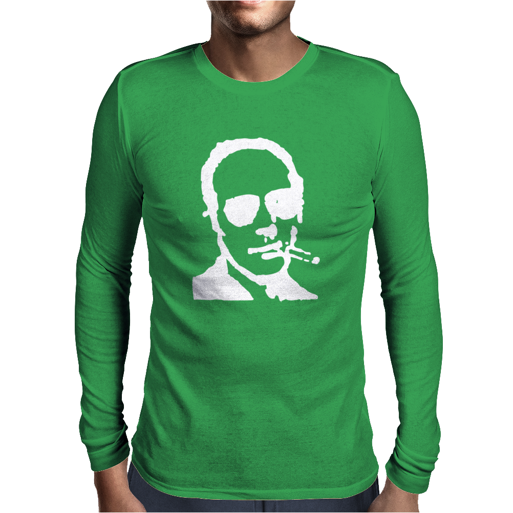 Hunter S Thompson Mens Long Sleeve T-Shirt