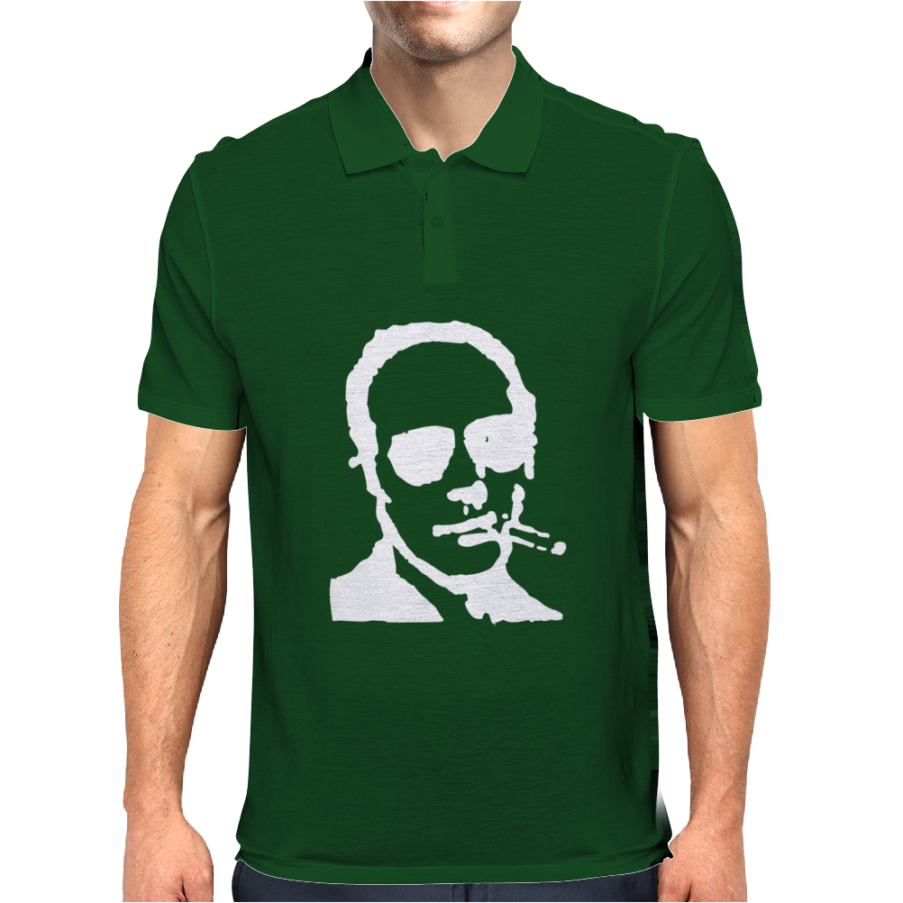 Hunter S Thompson Mens Polo