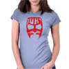 hurt face Womens Fitted T-Shirt