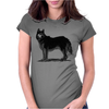 Husky, Dog Breed, Illustration Womens Fitted T-Shirt