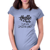 Hustle Womens Fitted T-Shirt