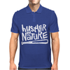 Hustler By Nature Naughty Hip-Hop Mens Polo