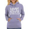 Hustler By Nature Naughty Hip-Hop Womens Hoodie
