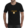 I Accept BTC Mens T-Shirt