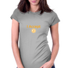I Accept BTC Womens Fitted T-Shirt