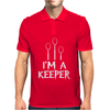 I Am A Keeper Mens Polo