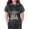 I Am A Keeper Womens Polo