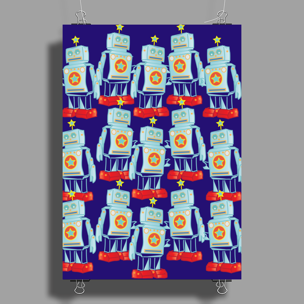 I am a robot army Poster Print (Portrait)