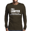 I AM a Teacher To Save Time lets Just Mens Long Sleeve T-Shirt