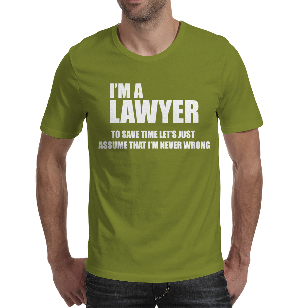 I AM a Teacher To Save Time lets Just Mens T-Shirt