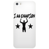 I AM CHAMPION Phone Case