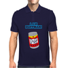 I AM DUFF MAN HOMER CULT FUNNY RETRO Mens Polo