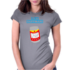 I AM DUFF MAN HOMER CULT FUNNY RETRO Womens Fitted T-Shirt