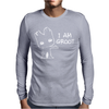 I AM GROOT' Guardians of the Galaxy Movie Funny Baby Groot Mens Long Sleeve T-Shirt