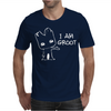 I AM GROOT' Guardians of the Galaxy Movie Funny Baby Groot Mens T-Shirt