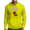I am here! Google Maps Mens Hoodie