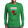 I am here! Google Maps Mens Long Sleeve T-Shirt
