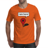 I am here! Google Maps Mens T-Shirt
