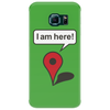 I am here! Google Maps Phone Case