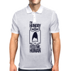 I am Hungry Mens Polo