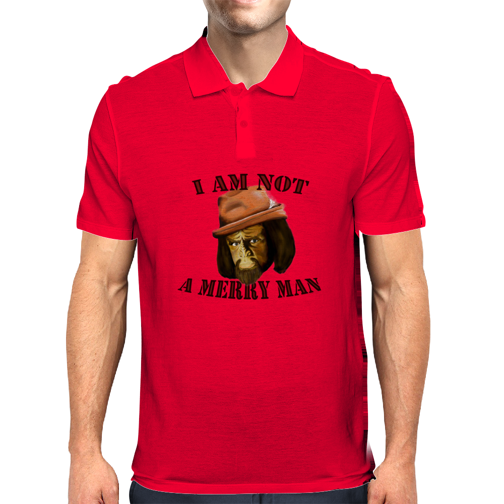 I Am Not A Merry Man Mens Polo