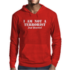 I am not a Terrorist Just Bearded Mens Hoodie