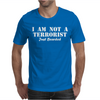 I am not a Terrorist Just Bearded Mens T-Shirt