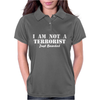 I am not a Terrorist Just Bearded Womens Polo