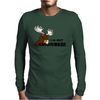 I am Not Amoosed Angy Moose Mens Long Sleeve T-Shirt
