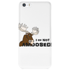 I am Not Amoosed Angy Moose Phone Case