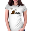I am Not Amoosed Angy Moose Womens Fitted T-Shirt