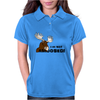 I am Not Amoosed Angy Moose Womens Polo