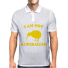 I Am Not Australian Mens Polo