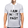 I Am Not Fast Mens Polo