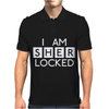 I am Sher Locked Mens Polo