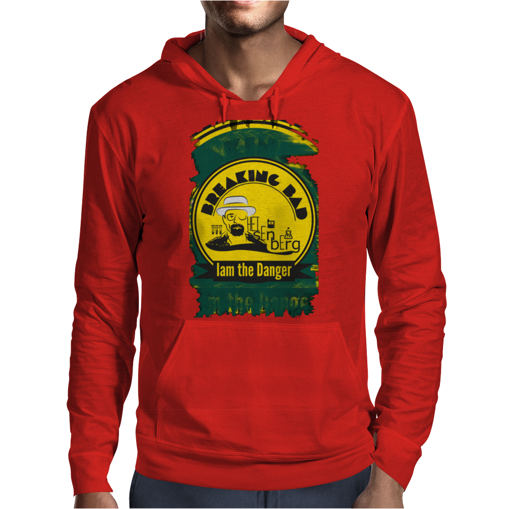 I am the danger - Walter White Mens Hoodie