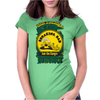 I am the danger - Walter White Womens Fitted T-Shirt
