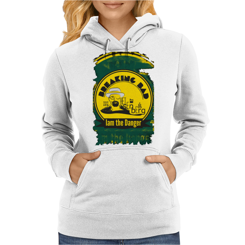 I am the danger - Walter White Womens Hoodie