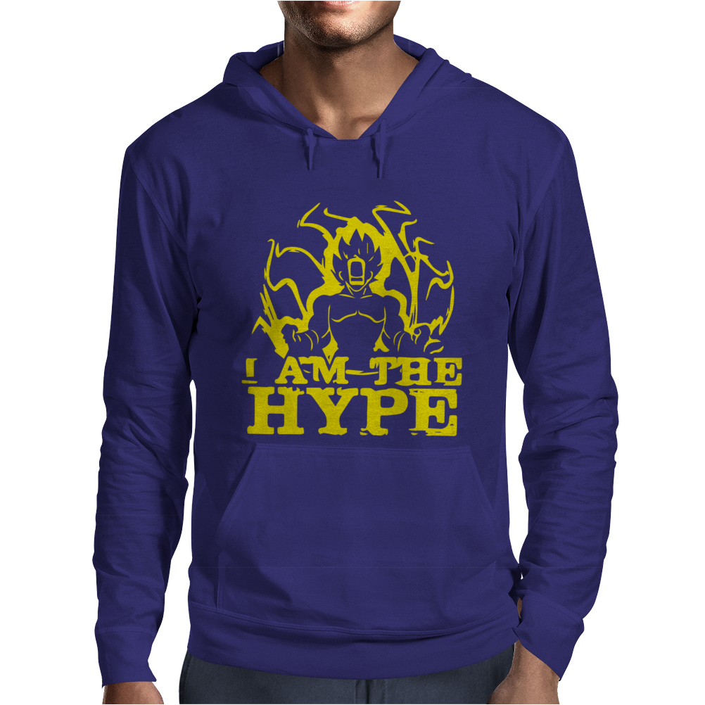 I AM THE HYPE Mens Hoodie