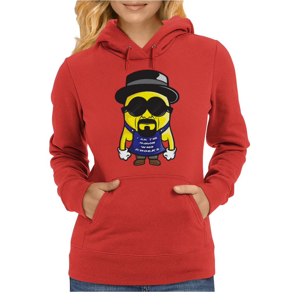 I am the minion who knocks Womens Hoodie