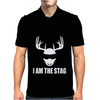 I Am The Stag Mens Polo